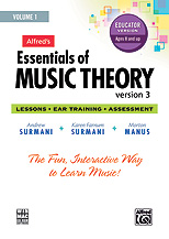 Essentials of Music Theory: Software, Version 3 CD-ROM Educator Version, Volume 1