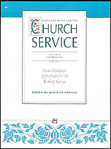Classical Music for the Church Service, Volume 2