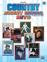 Country Sheet Music Hits