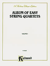 Album of Easy String Quartets