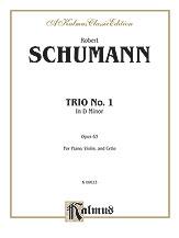 Trio No. 1, Op. 63. (Piano, Violin, & Cello)