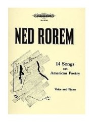 14 Songs on American Poetry: Instrumentation: Piano/Vocal By Ned Rorem