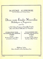 200 Etudes No. uvelles [Sheet music]