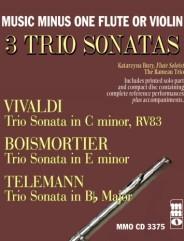 3 Trio Sonatas: VIVALDI C minor, RV83; BOISMORTIER E minor; TELEMANN B-flat.