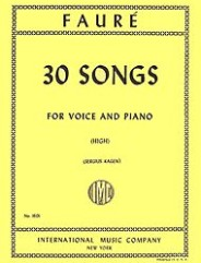 30 Songs for Voice and Piano (High)