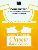 Concertino (for Flute Solo with Band Accompaniment - Full Score and Parts)