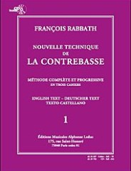 Nouvelle Technique. (De La Contrebasse, Volume 1 (Avec Cd)).