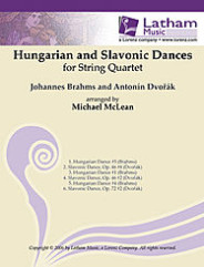 Hungarian and Slavonic Dances for String Quartet