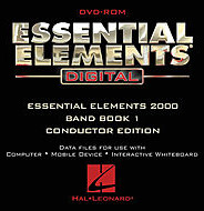 Essential Elements Digital - Band Book 1 (Conductor Edition on DVD-ROM).