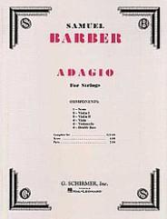 Adagio for Strings, Op. 11. (Original Edition)