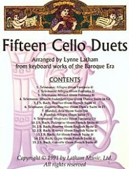 Fifteen Cello Duets