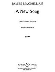 A New Song. (SATB and Organ)