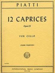 12 Caprices For Solo Cello Op.25