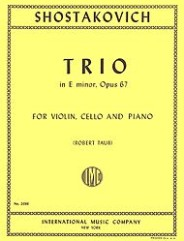 Trio in E minor, Opus 67