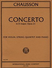 Concerto in D major, Opus 21 for Violin, Piano & String Quartet