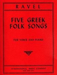 Five Greek Folk Songs