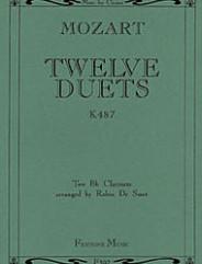 12 Duets K487 (Clarinet Duets)