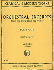 Orchestral Excerpts from the Symphonic Repertoire - Volume 2 (revised)