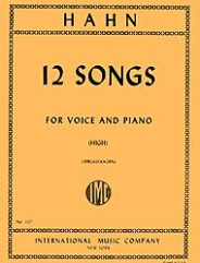 12 Songs: For High Voice and Piano