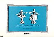Alt-Dresdner Tanzbuch (Old Dresden Dance Book)
