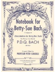 Notebook for Betty-Sue Bach