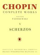 Scherzos (Chopin Complete Works V)