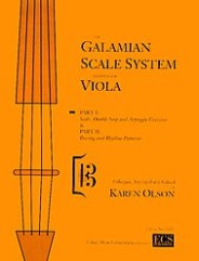 The Galamian Scale System For Viola (Volume 1) (Scale, Double Stop and Arpeggio Exercises).