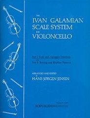 The Galamian Scale System For Violoncello (Volume 1) (Scale and Arpeggio Exercises).