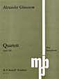 Saxophone Quartet in Bb Op.109