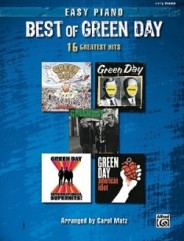 The Best Of Green Day 16 Greatest Hits Easy Piano