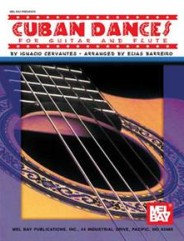 Cuban Dances for Guitar and Flute (Book)