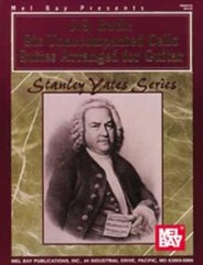 J. S. Bach: Six Unaccompanied Cello Suites Arranged for Guitar (Book)