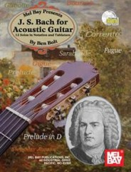 J.S. Bach for Acoustic Guitar (Book/CD Set)