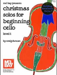 Christmas Solos for Beginning Cello (Book)