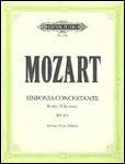 Sinfonia Concertante in E flat for Violin, Viola & Orchestra K364