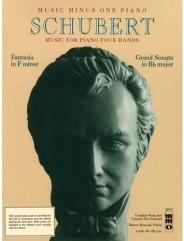 SCHUBERT Fantaisie in F minor, op. 103, D940; Grand Sonata in B-flat major, op. 30, D617 for piano duet 1P/4H