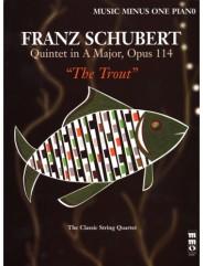 SCHUBERT Piano Quintet in A major, op. 114, D667 'Forellen-Quintett' or 'Trout Quintet' (minus piano)