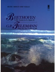 BEETHOVEN Violoncello Sonata in A major, op. 69; TELEMANN Violoncello Duet in B-flat