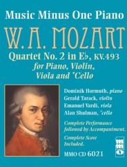 MOZART Piano Quartet No. 2 in E-flat major, KV493
