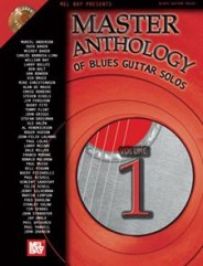 Master Anthology of Blues Guitar Solos, Volume One (Book/2-CD Set)