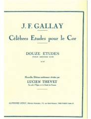 12 Etudes Pour Second Cor Op57