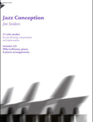 JAZZ CONCEPTION BY JIM SNIDERO FOR PIANO