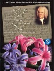 J.S. BACH Concerto in F minor, BWV1056; J.C.Fr. BACH Concerto in E-flat major (Digitally Remastered 2 CD set)